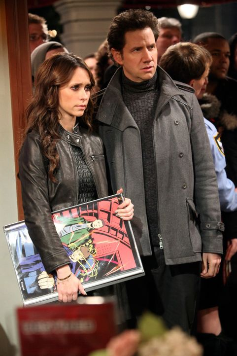 Eli (Jamie Kennedy, r.) und Melinda (Jennifer Love Hewitt, l.) lernen Damon Weaver kennen, einen bekannten Comic- Zeichner. Dummerweise müssen sie f... - Bildquelle: ABC Studios