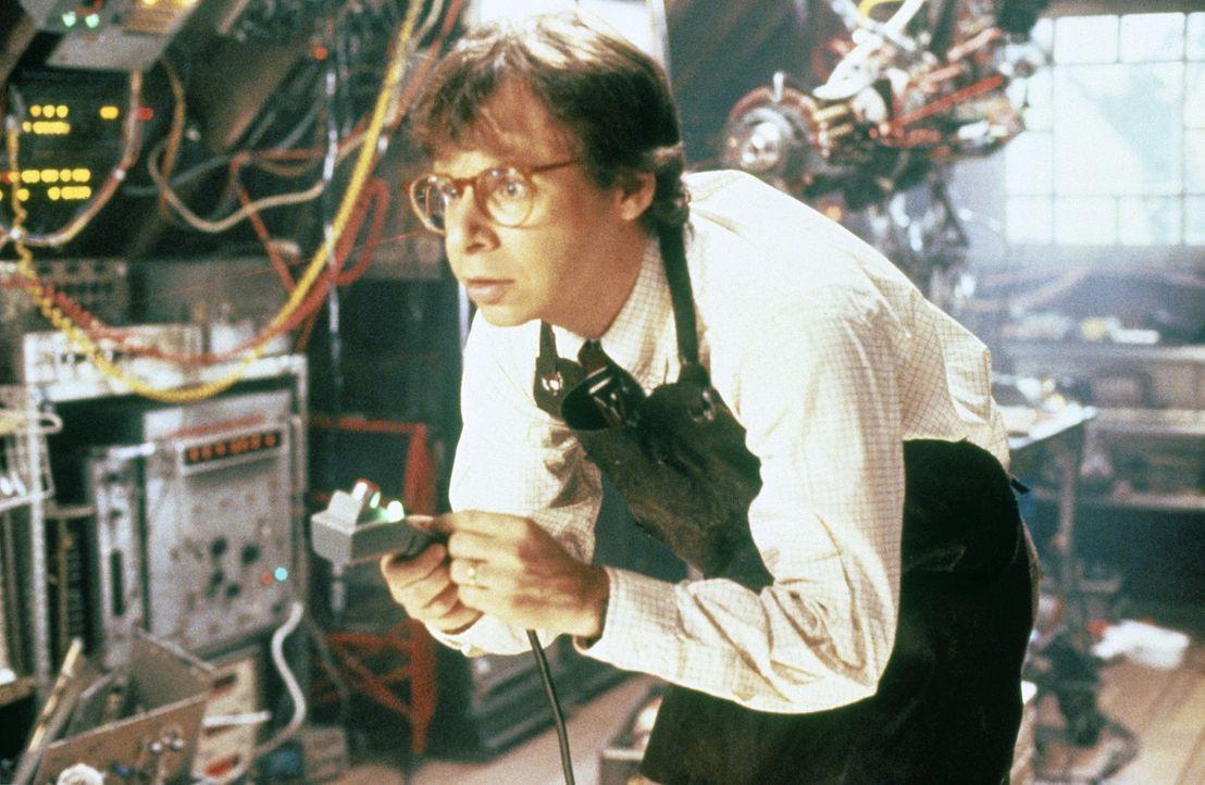 Immer wieder unterlaufen dem Erfinder Wayne (Rick Moranis) gravierende Fehler, die ein riesengroßes Chaos auslösen. Eines Tages schrumpft er seine K... - Bildquelle: Walt Disney Pictures