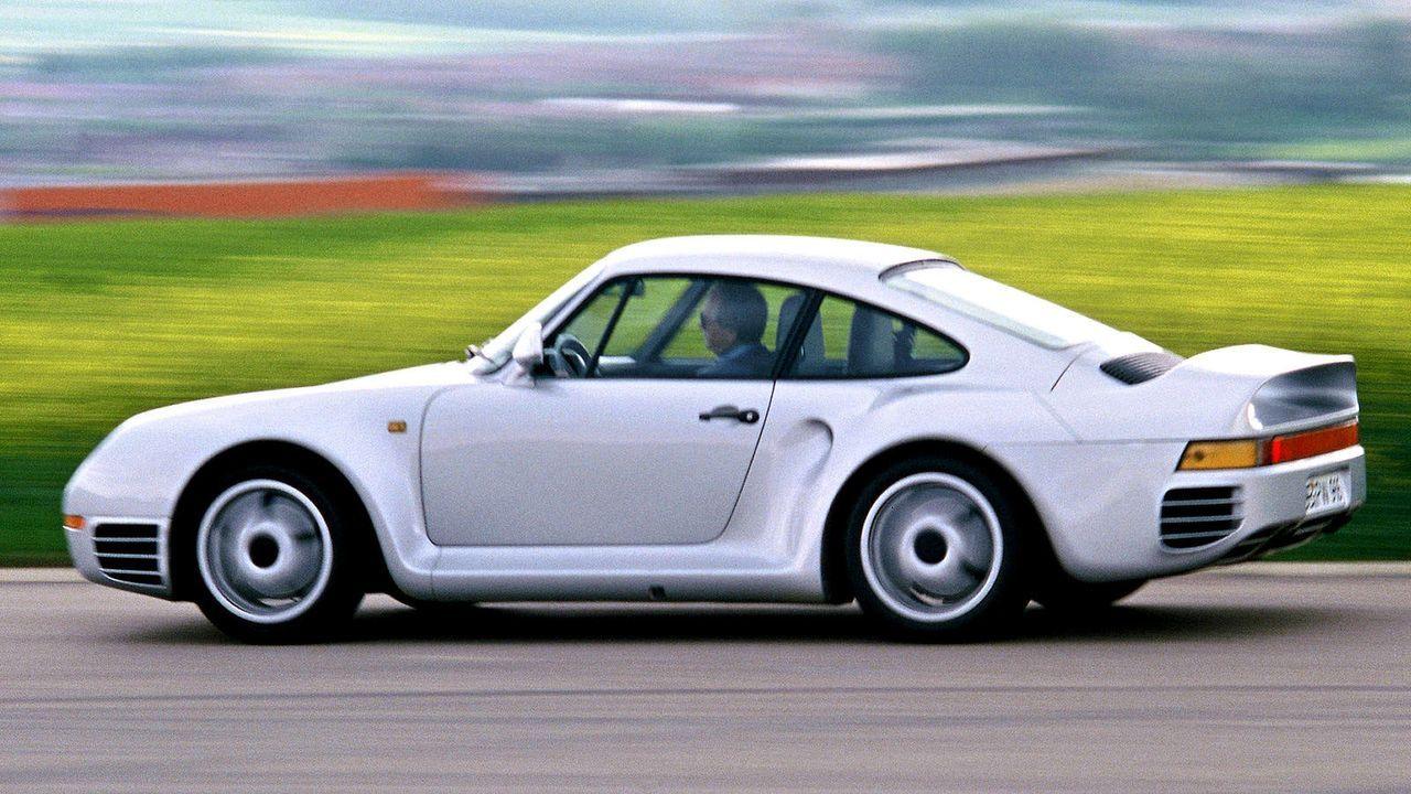 Porsche 959 - Bildquelle: dpa