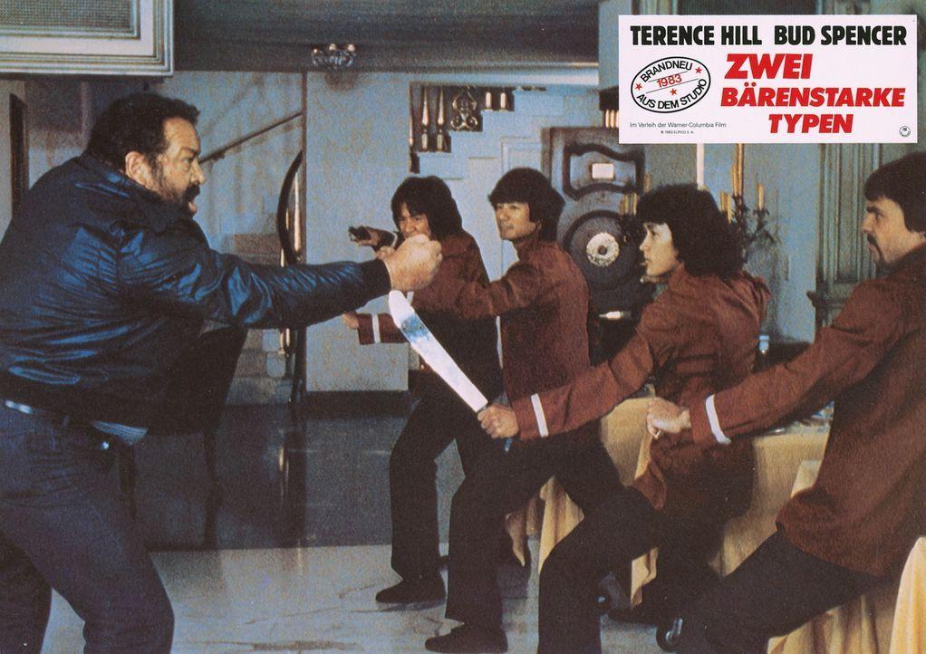 Mit ihm ist nicht zu spaßen: Doug (Bud Spencer, l.) ... - Bildquelle: Warner Brothers