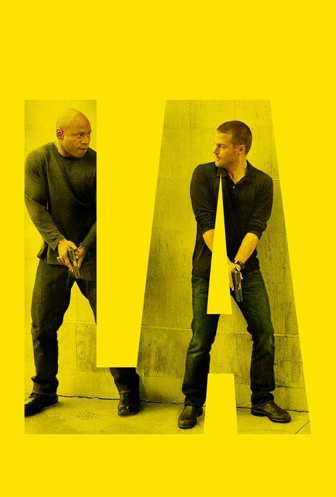 (6. Staffel) - Ermitteln Undercover im sonnigen Kalifornien um die nationale Sicherheit zu wahren: Special Agent G. Callen (Chris O'Donnell, r.) und... - Bildquelle: CBS Studios Inc. All Rights Reserved.