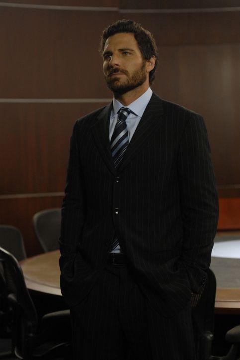 Allison übernimmt sein Amt bei Global Dynamics: Nathan Stark (Ed Quinn) ... - Bildquelle: Universal Television