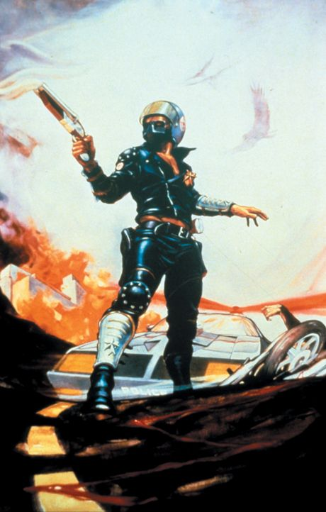 """Nachdem der sadistische Toecutter sein Kind getötet und seine Frau zum Krüppel geschlagen hat, wird aus Max Rockatansky der schwer bewaffnete """"Mad... - Bildquelle: Warner Bros."""