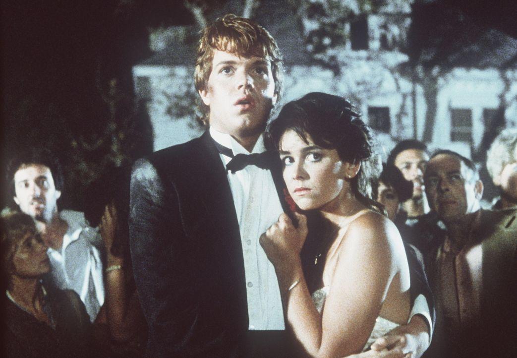 Der Alptraum ist vorüber Chris (Jason Lively, l.) und Cynthia (Jill Whitlow, r.) haben mit Müh und Not überlebt ... - Bildquelle: TriStar Pictures