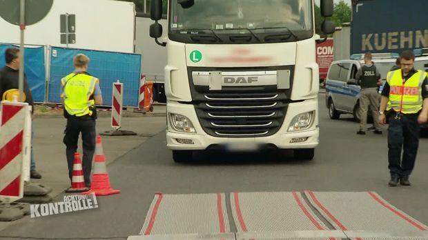 Achtung Kontrolle - Achtung Kontrolle! - Thema U.a.: Gefahrgut Ohne Sicherung - Großkontrolle Offenbach