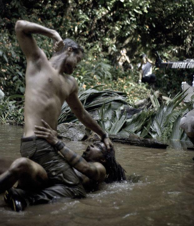 Muss um sein Leben kämpfen: Jack (Shane West, oben) ...