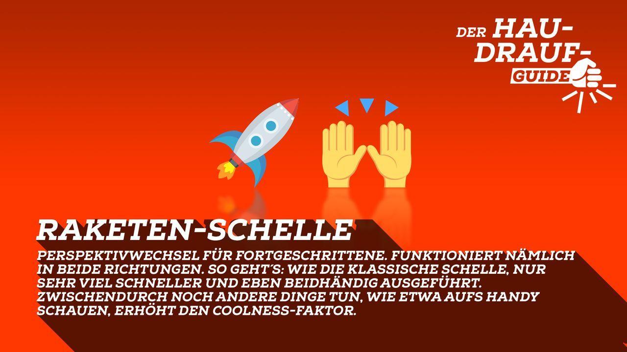 Raketen-Schelle