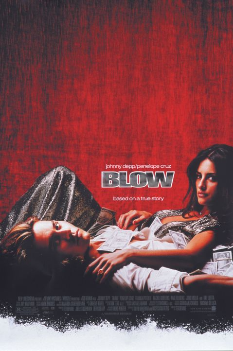 Blow mit Johnny Depp, l. und Penélope Cruz, r. - Bildquelle: New Line Cinema