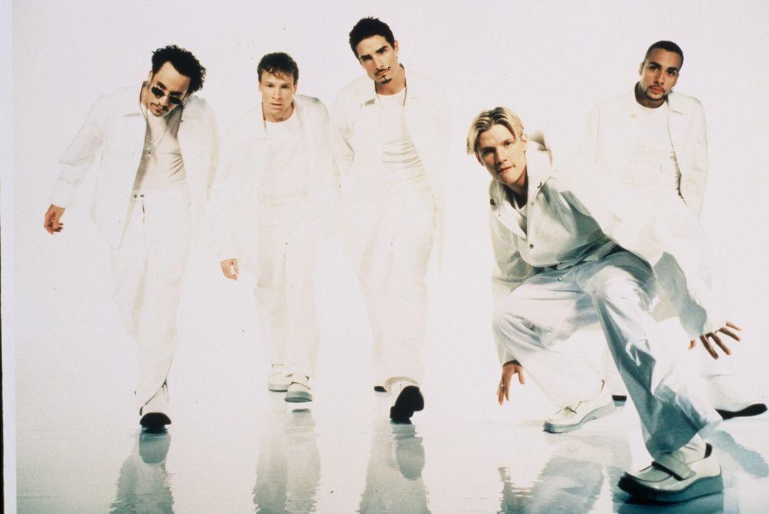 """kabel eins zeigt die schönsten """"Kuschel-Rock""""-Momente aus drei Jahrzehnten Musik-, Film- und Zeit-Geschichte: Backstreet Boys ... - Bildquelle: Sony Music Entertainment/BMG"""