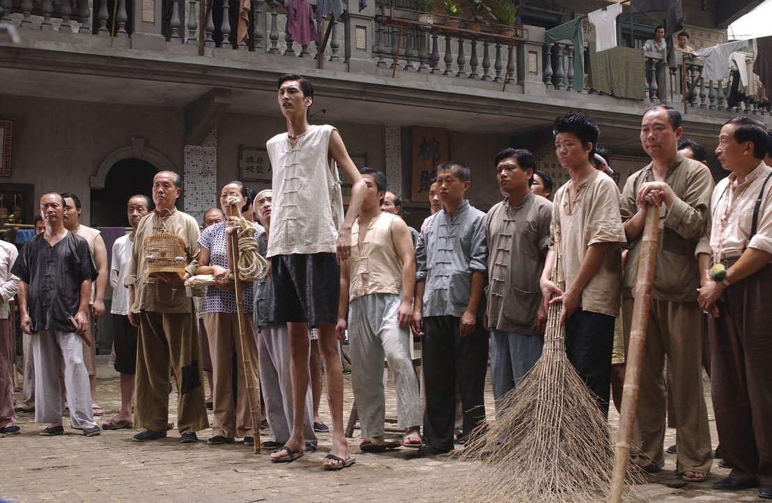 Alle Einschüchterungsversuche gegen Mieter, die alle nicht das sind, was sie scheinen, schlagen fehl ... - Bildquelle: 2004 Columbia Pictures Film Production Asia Limited. All Rights Reserved.