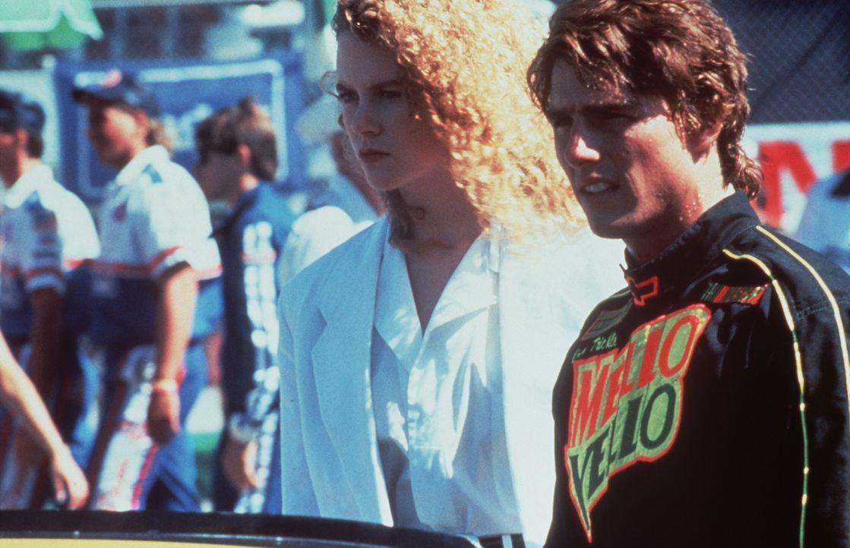 Nach einem schweren Unfall lernt Rennfahrer Cole Trickle (Tom Cruise, r.) die schöne Ärztin Claire Lewicki (Nicole Kidman, l.) kennen, in die er s... - Bildquelle: Paramount Pictures