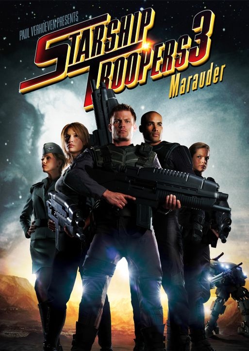 STARSHIP TROOPERS 3: MARAUDER - Plakatmotiv - Bildquelle: 2008 Star Troopers (Pty) Limited and ApolloMovie Beteiligungs GmbH. All Rights Reserved.