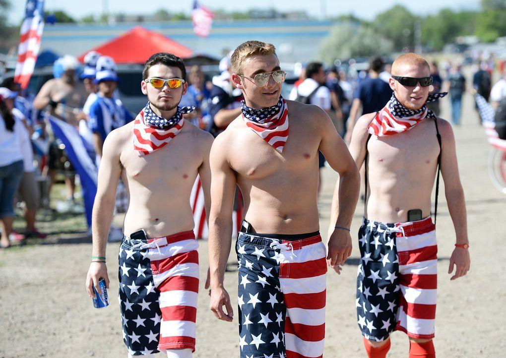 WM-Fussball-Fans-USA-130618-1-AFP - Bildquelle: AFP