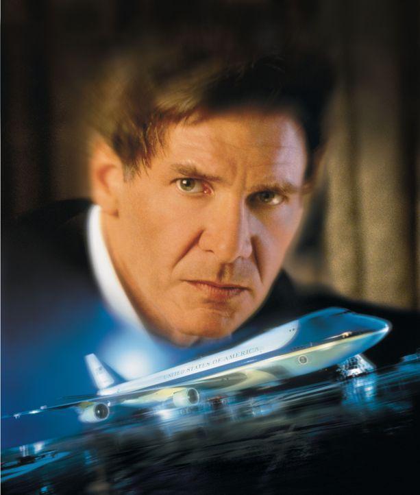 US-Präsident James Marshall (Harrison Ford) hat allen Terroristen der Welt den Kampf angesagt ... - Bildquelle: Buena Vista International