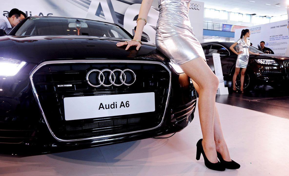 automesse-vietnam-Audi-A6-110622-AFP - Bildquelle: AFP