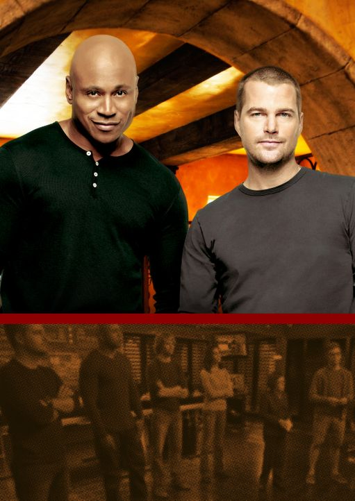 (5. Staffel) - Ermitteln in einer Undercovereinheit in Los Angeles, die dem Naval Criminal Investigative Service angehört: Special Agent G. Callen (... - Bildquelle: CBS Studios Inc. All Rights Reserved.