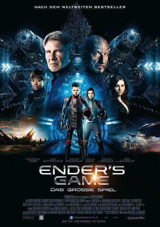 ENDER'S GAME - Plakat - Bildquelle: 2013 Constantin Film GmbH