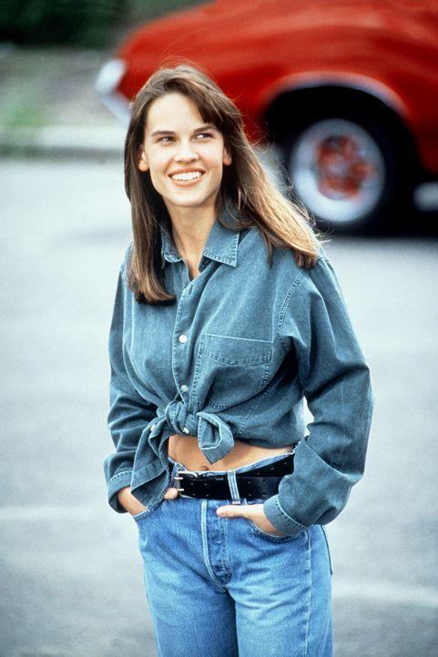 Wütend auf die Welt und auf sich zieht sich die arme Julie (Hilary Swank) immer weiter in sich zurück und verschließt sich der Welt. Bis der alte... - Bildquelle: Columbia Pictures