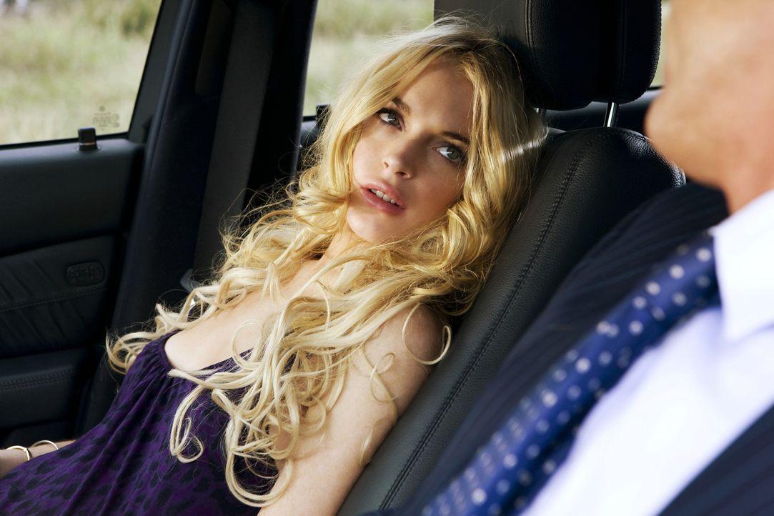 Die drogenabhängige April (Lindsay Lohan) versetzt regelmäßig ihren Vater in eine mörderische Unruhe ... - Bildquelle: 2010 Machete's Chop Shop, Inc. All Rights Reserved.