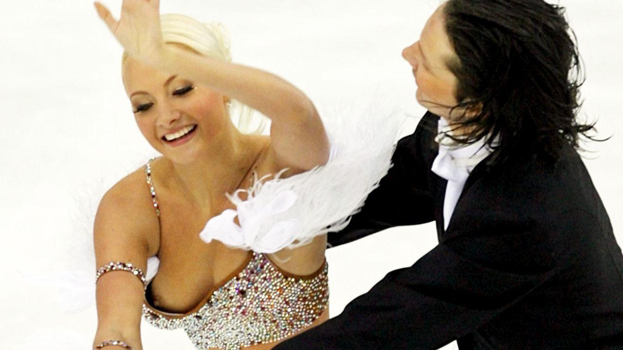 Blamage auf dem Eis bei Oksana Domnina und Maxim Schabalin  - Bildquelle: Picture Alliance/dpa