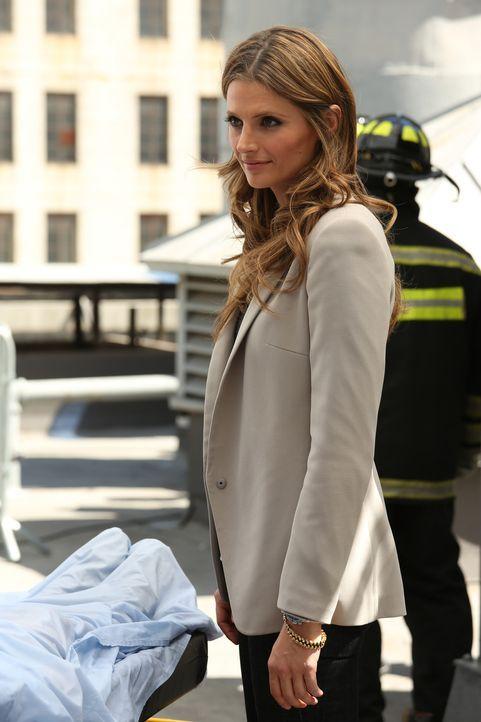 Als Beckett (Stana Katic) einen Job bei der Bundespolizei angeboten bekommen, steht sie vor einer schweren Entscheidung ... - Bildquelle: ABC Studios