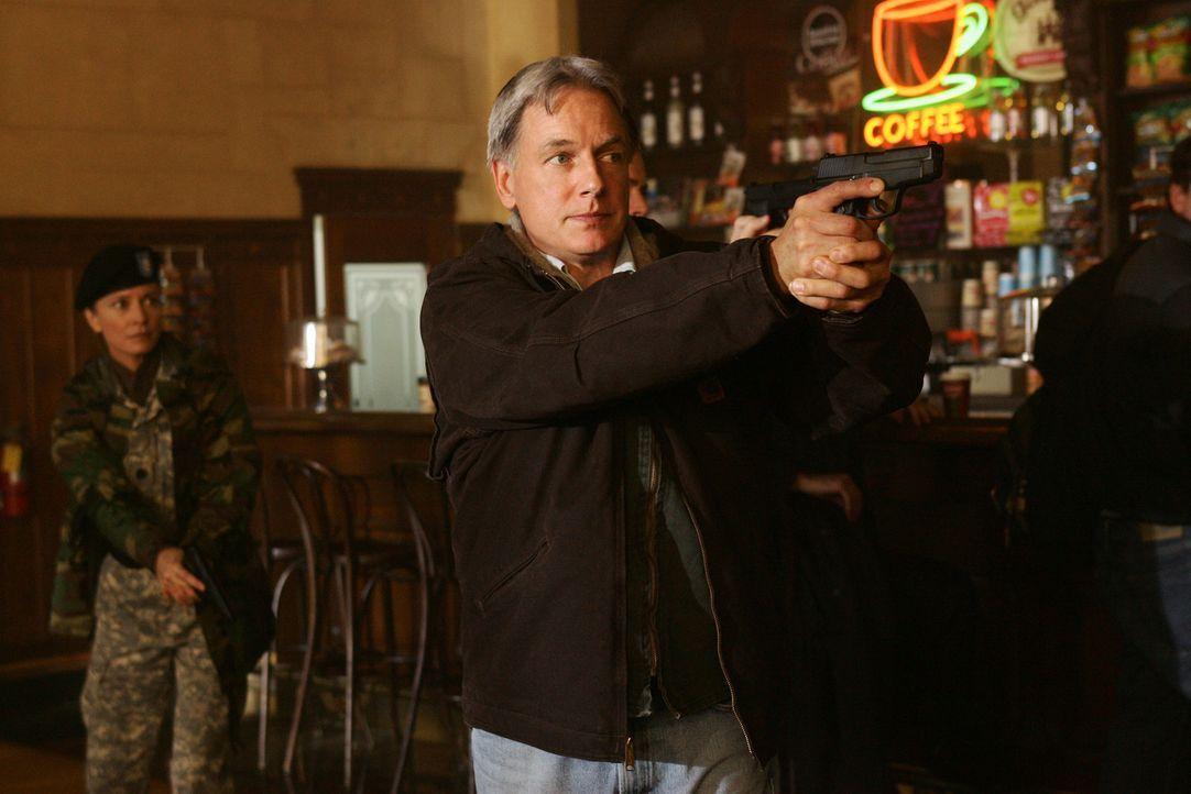 Ahnt, was Mamoun Sharif vor hat: Gibbs (Mark Harmon) ... - Bildquelle: CBS Television