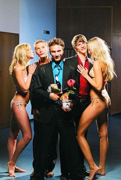 """""""Sex-up - ich könnt' schon wieder"""" mit (v.l.n.r.) Jacob Matschenz, André Kaminski und Jonas Jägermeyr - Bildquelle: Gordon Mühle ProSieben"""