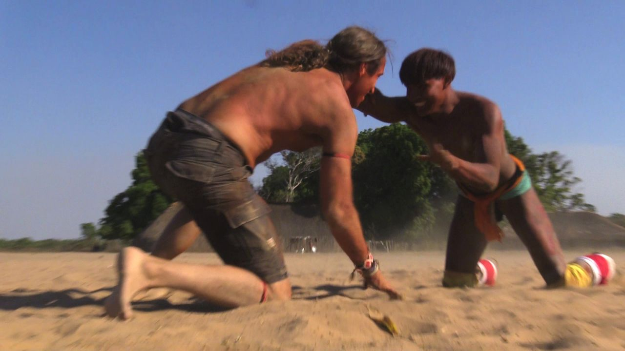 Ringkampf beim Volk der Kamayura