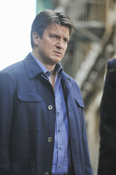 Ein neuer Fall wartet auf Richard Castle (Nathan Fillion) ... - Bildquelle: 2013 American Broadcasting Companies, Inc. All rights reserved.