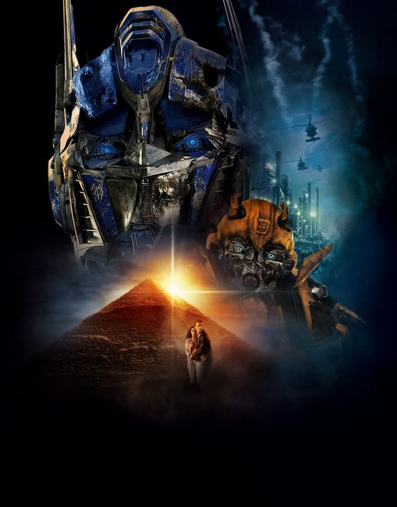 TRANSFORMERS - DIE RACHE - Artwork - Bildquelle: MMIX DW STUDIOS L.L.C. and PARAMOUNT PICTURES CORPORATION. All Rights Reserved.