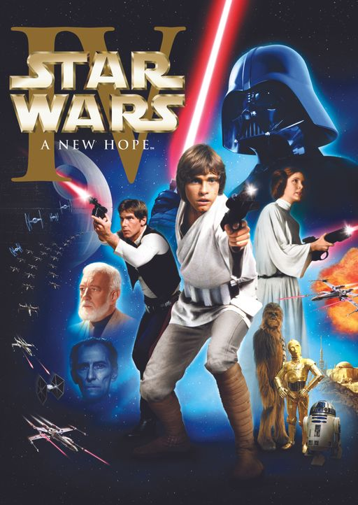 Star Wars: Eine neue Hoffnung - Plakat - Bildquelle: 1997 Lucasfilm Ltd. All rights reserved.