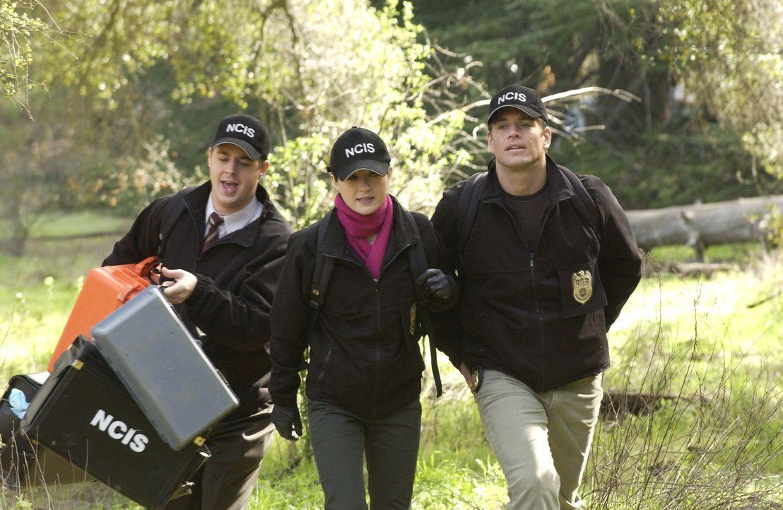Während eines Camping Ausfluges mit seiner Frau und seinem besten Freund stürzt ein Marine von einem Cliff und nimmt dabei seine eigene Ermordung mi... - Bildquelle: CBS Television