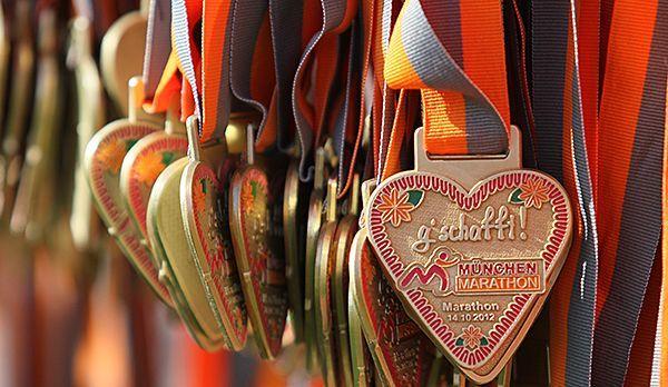 Die Belohnung für 42 Kilometer - Bildquelle: runabout MÜNCHEN MARATHON