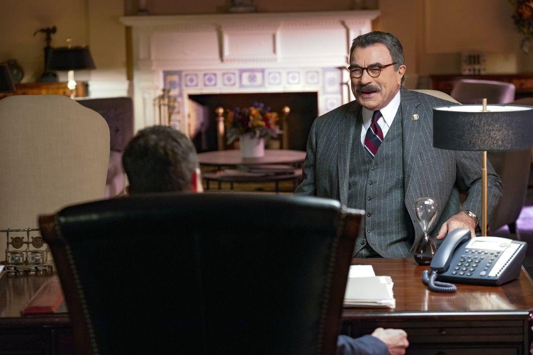 Frank Reagan (Tom Selleck) - Bildquelle: John Paul Filo 2019 CBS Broadcasting Inc. All Rights Reserved. / John Paul Filo