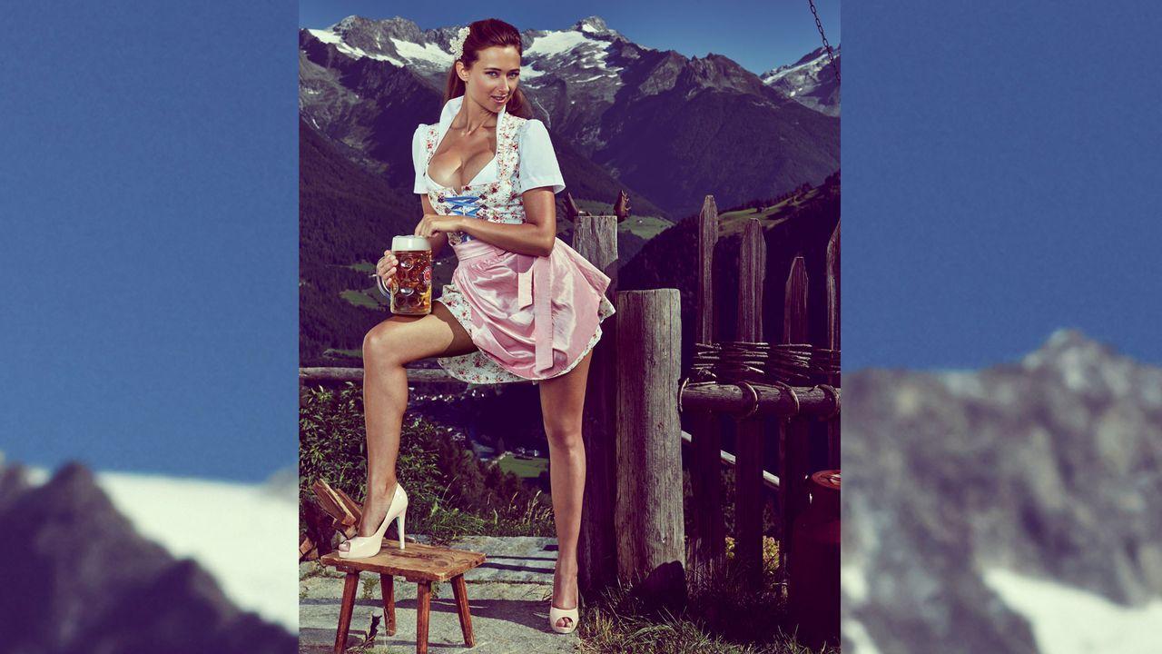 Jessica_Kuehne_Dirndl_1 - Bildquelle: Sacha Eyeland für Playboy Oktober 2015