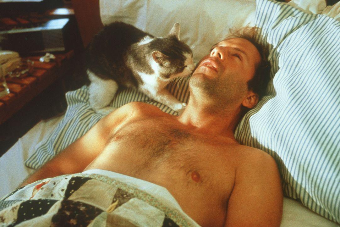 Ist der Wasserschutzpolizist Tom Hardy (Bruce Willis) selbst in Gefahr? - Bildquelle: Columbia Pictures