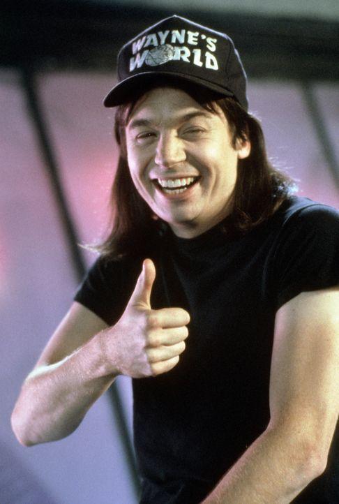 Die Fernsehshow von Wayne (Mike Myers) und seinem Kumpel ist ein voller Erfolg, bis ein TV-Produzent das Chaosduo unter Vertrag nehmen will. - Bildquelle: Paramount Pictures