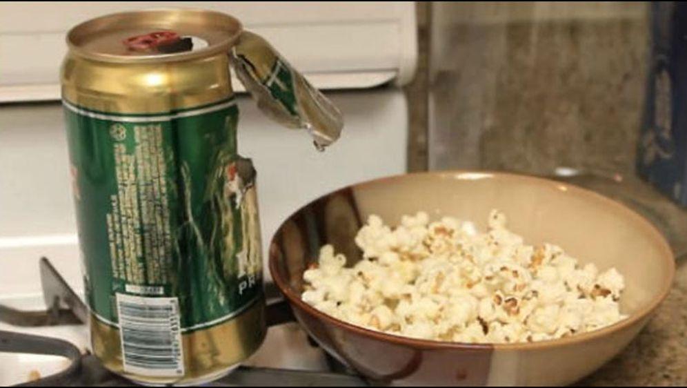 Kühlschrank Dose : Dosen popcornmaker und dosen kühlschrank bauanleitung