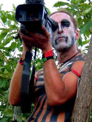 Mit Kamera beim Sagine - Bildquelle: Richard Gress