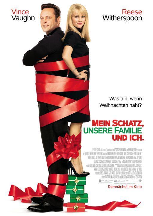 Was tun, wenn Weihnachten naht? Kate (Reese Witherspoon, r.) und Brad (Vince Vaughn, l.) haben einen Plan, doch der wird durchkreuzt und somit erleb... - Bildquelle: Warner Bros. Television
