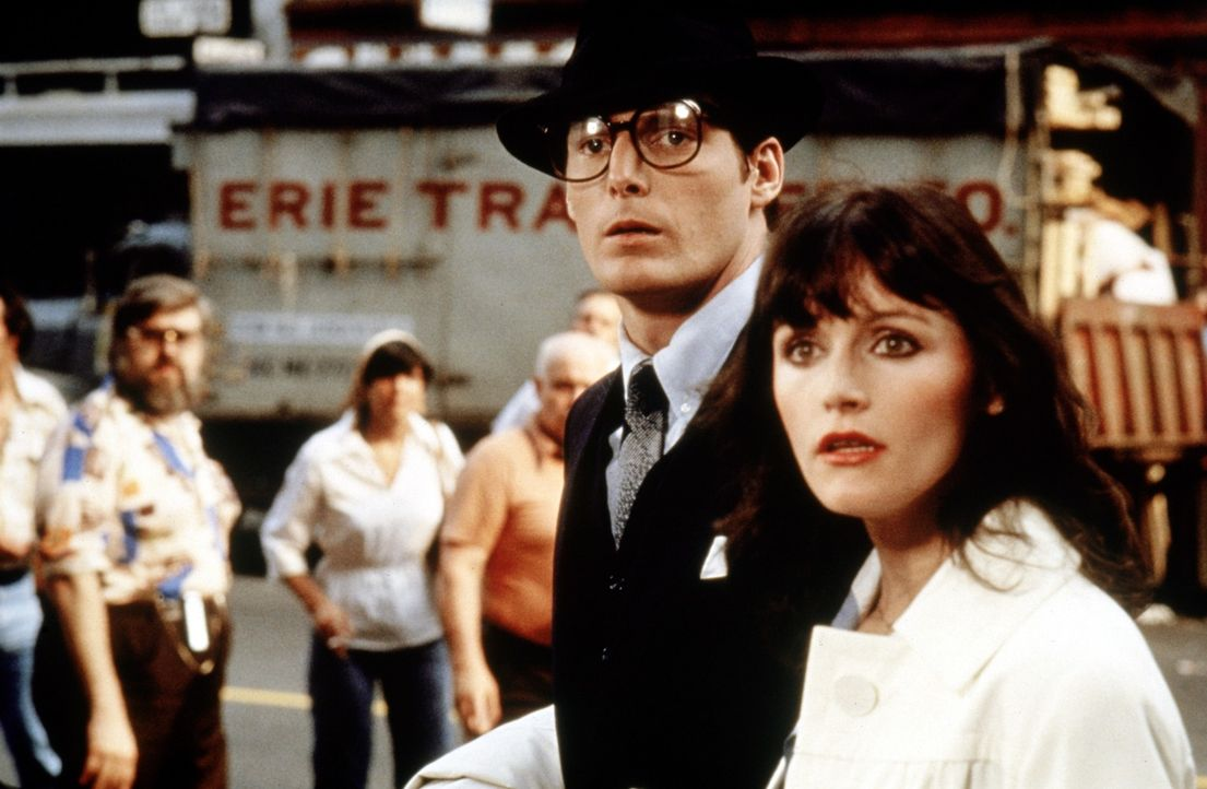 Clark Kent (Christopher Reeve, l.); Lois Lane (Margot Kidder, r.) - Bildquelle: DC Comics.   1978 Warner Bros. Entertainment Inc. All rights reserved.