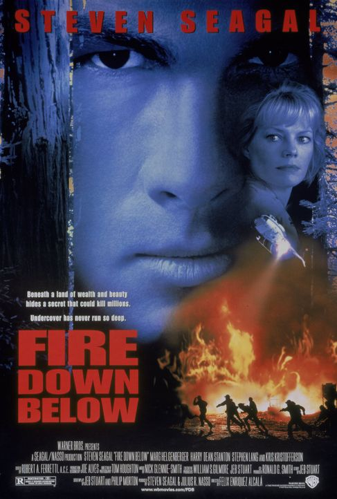 Fire down below - Plakatmotiv - Bildquelle: Warner Bros. Entertainment Inc.