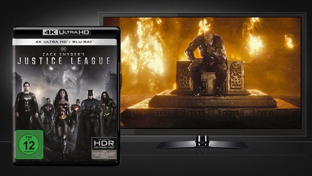 Zack Snyder's Justice League (4K UHD + Blu-ray) - Bildquelle: Warner Home Video