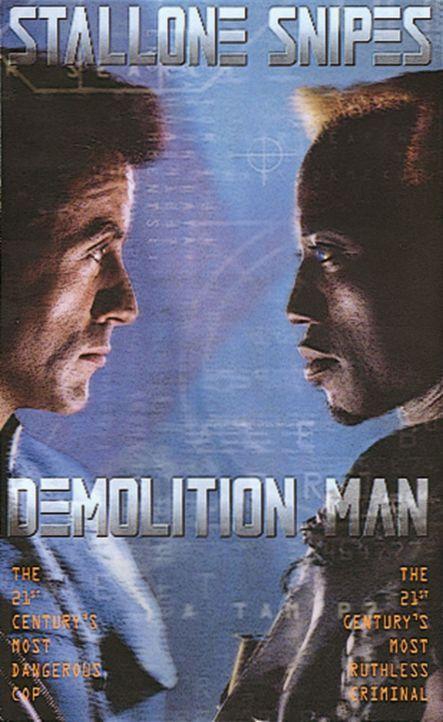 """""""Demolition Man"""" - Plakatmotiv - Bildquelle: Warner Brothers International Television Distribution Inc."""