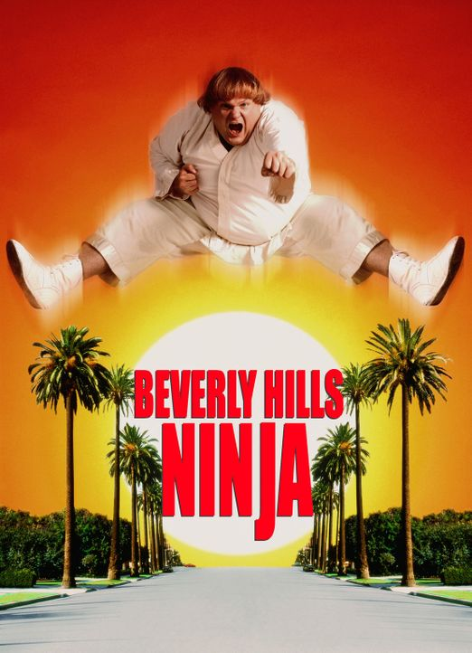 Beverly Hills Ninja - Die Kampfwurst - Plakatmotiv - Bildquelle: 1997 TriStar Pictures, Inc. All Rights Reserved.