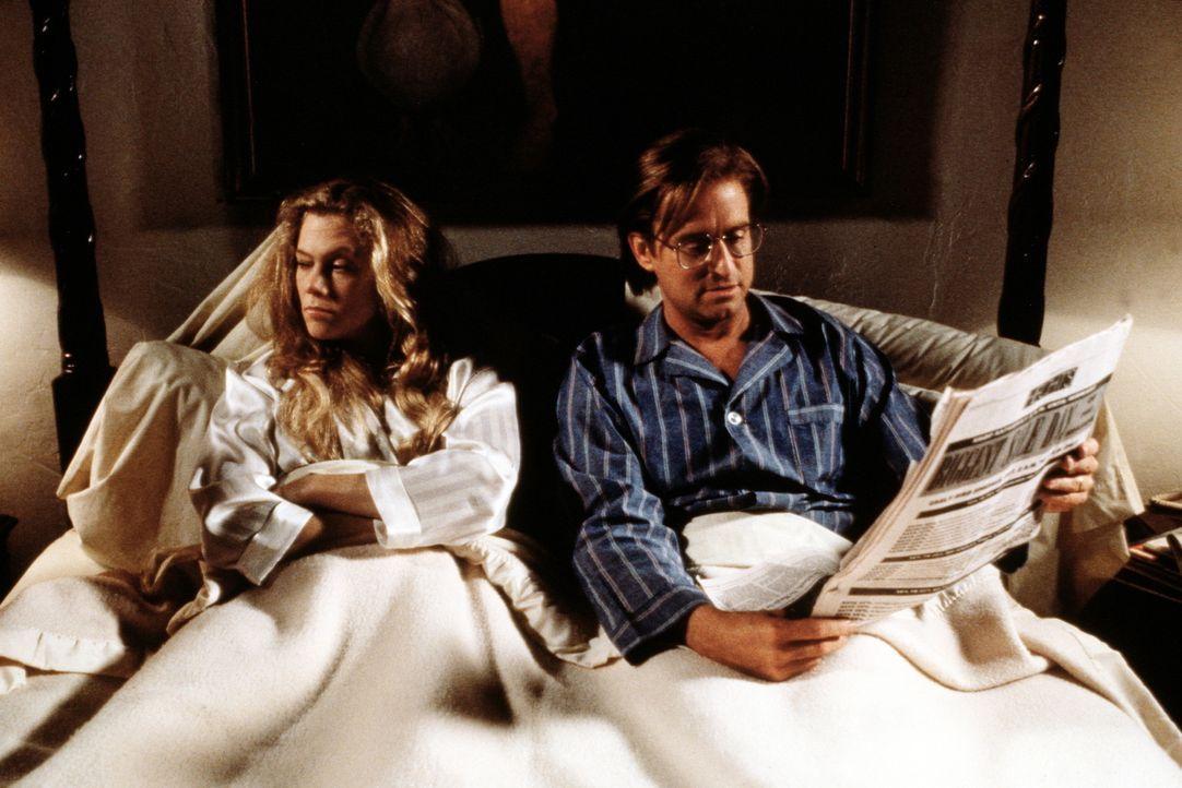 Viel haben sich Barbara (Kathleen Turner, l.) und Oliver (Michael Douglas, r.) nach 17 Jahren Ehe nicht zu sagen ... - Bildquelle: 20th Century Fox Film Corporation