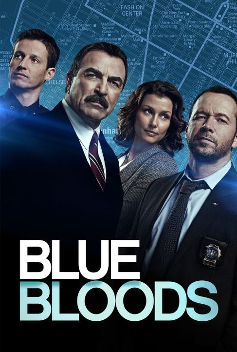 (8. Staffel) - Blue Bloods - Artwork - Bildquelle: 2017 CBS Broadcasting Inc. All Rights Reserved.