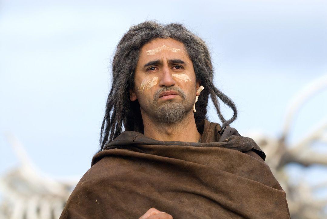 Auf seiner Odyssee kämpft er gegen Säbelzahntiger und andere prähistorische Raubtiere, bis er schliesslich gegen einen Gott kämpfen muss, der se... - Bildquelle: Warner Brothers