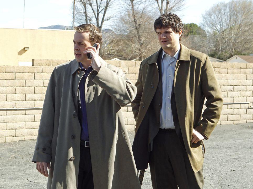 Ermitteln gemeinsam in einem neuen Fall: McGee (Sean Murray, l.) und Ned Dorneget (Matt Jones, r.) ... - Bildquelle: CBS International Television (ehem: Paramount Pictures International)