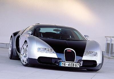 Platz 1: Bugatti EB 16.4 Veyron - Bildquelle: Bugatti